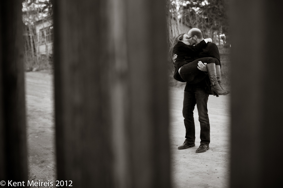 Engagement picture taken at Gold Hill, Colorado.