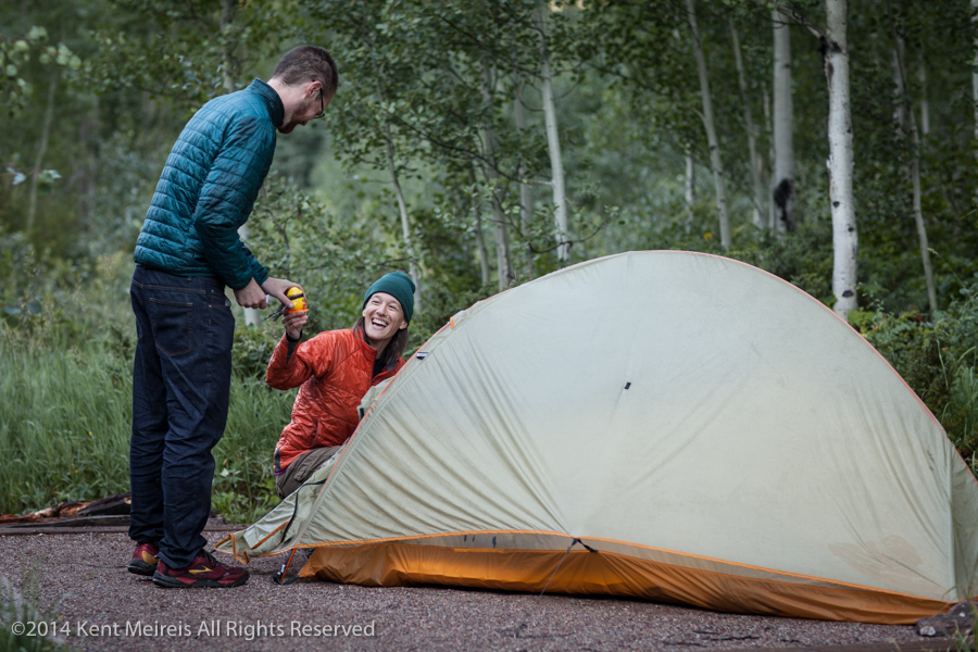 Bride-Groom-Tent-Camping-Aspen-Morning-Picture