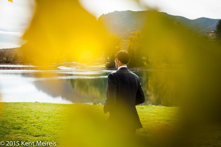 Groom-Waiting-Bride-Broadmoor-Hotel-Picture-Wedding