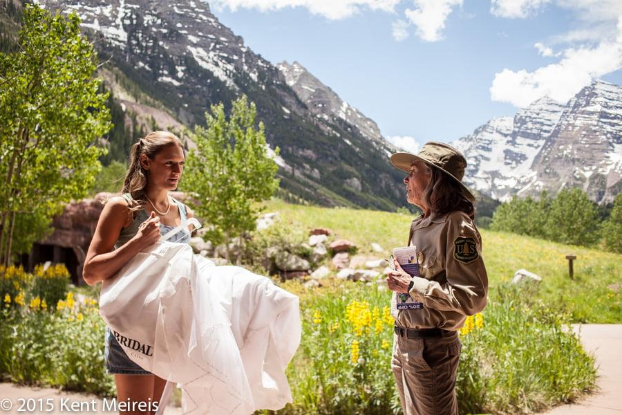 Maroon-Bells-Bride-Park-Ranger