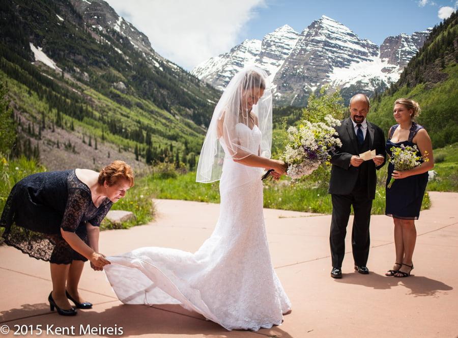 Bride-dress-mother-Maroon-Bells-Aspen