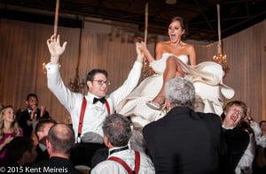 Jewish Wedding Reception Denver Colorado Hora Dance Picture