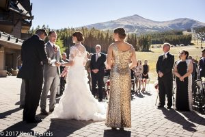 Breckenridge Peak 7 Patio Wedding