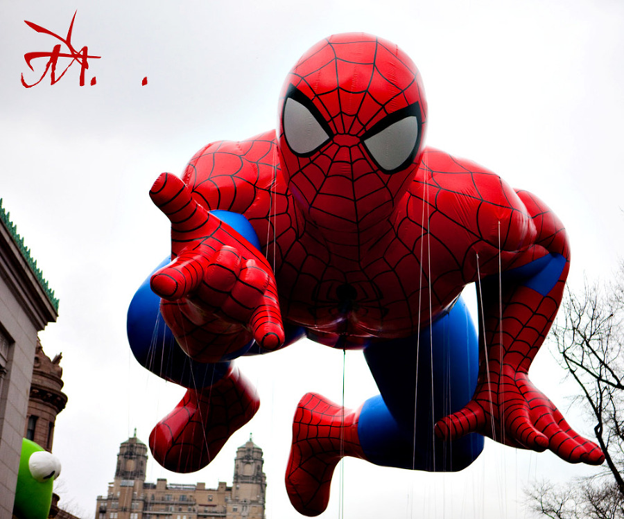Spiderman in the Macy