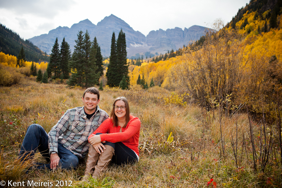 Maroon Bells Engagement photo session