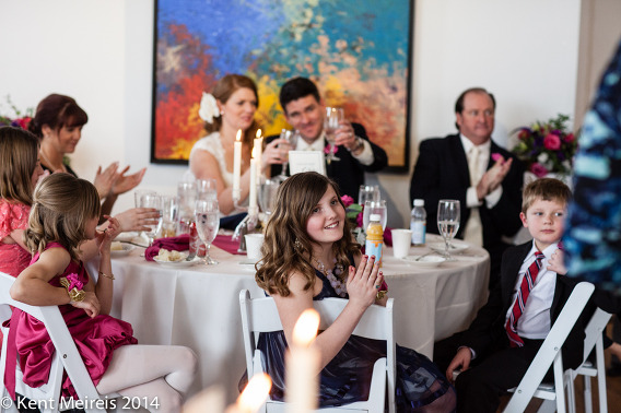 Art-Gallery-Wedding-Reception-Toast-Picture