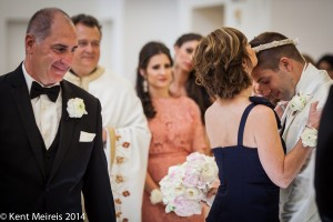 Mother-Groom-Kiss-Greek-Wedding-Ceremony - Montana Wedding