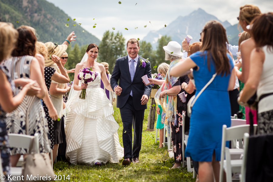 T-Lazy-7-Wedding-Ceremony-Recessional-Mountains-Picture