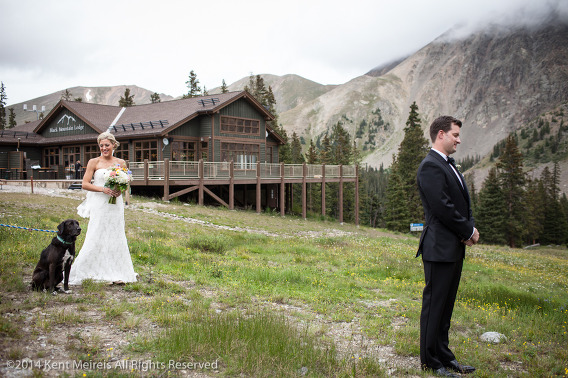 Bride-Groom-First-Look-Reveal-Arapahoe-Basin-Wedding-Picture