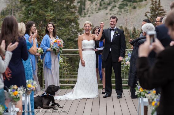 Arapahoe-Basin-Wedding-Ceremony-Picture-Bride-Groom