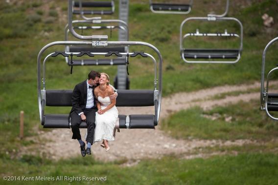 Bride-Groom-Arapahoe-Basin-Lift-Kiss-Picture