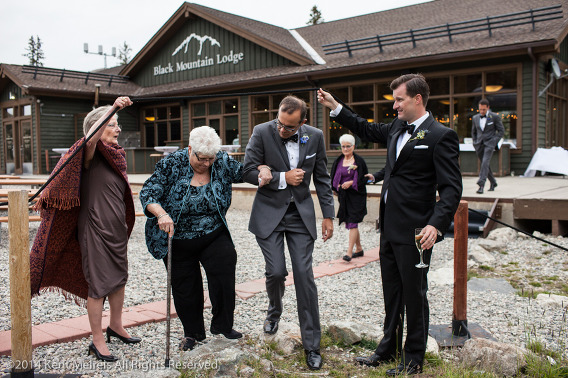 Black-Mountain-Lodge-Arapahoe-Basin-Wedding-Groom-Family-Picture