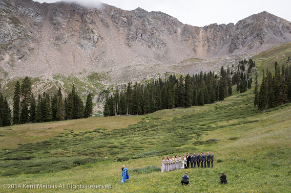 Bridal-Party-Picture-Arapahoe-Basin-Wedding