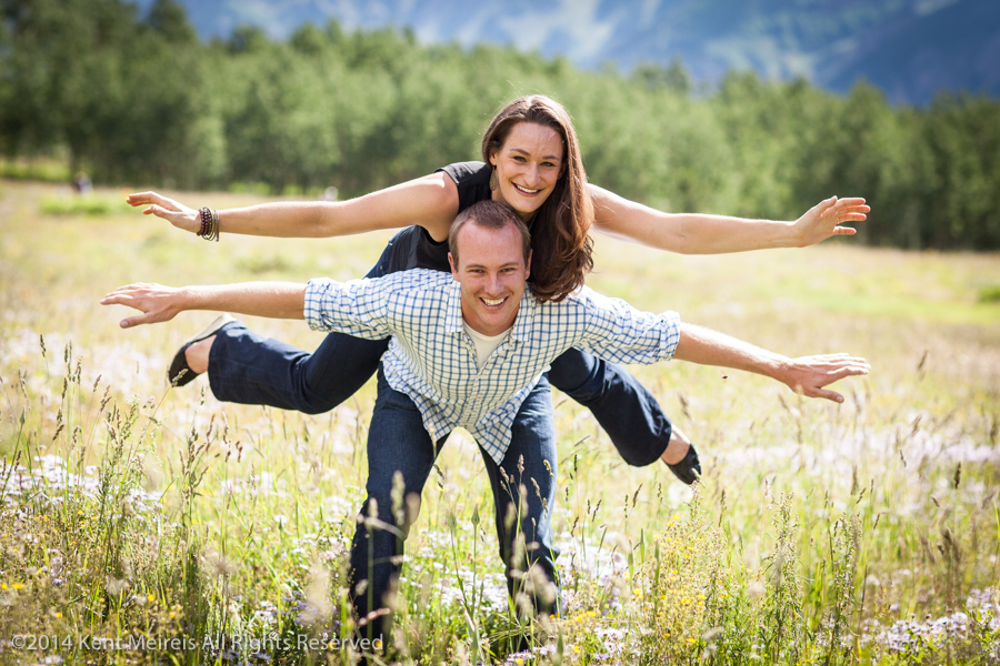 Maroon Bells, Engagment, Picture, Portrait, Fun