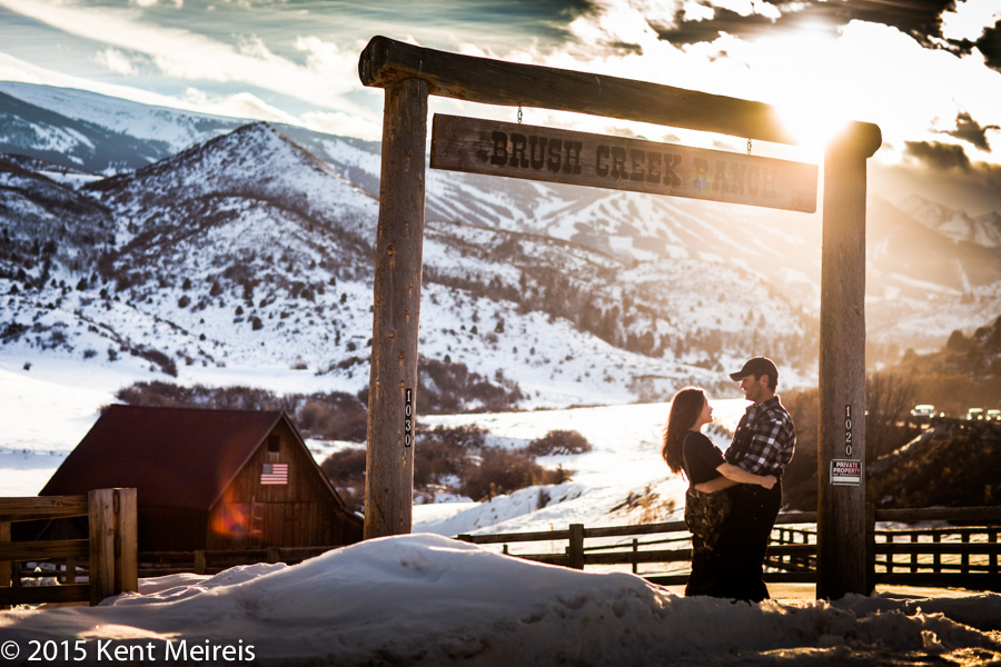 Snowmass Colorado Mountain Engagement Lifestyle photo session