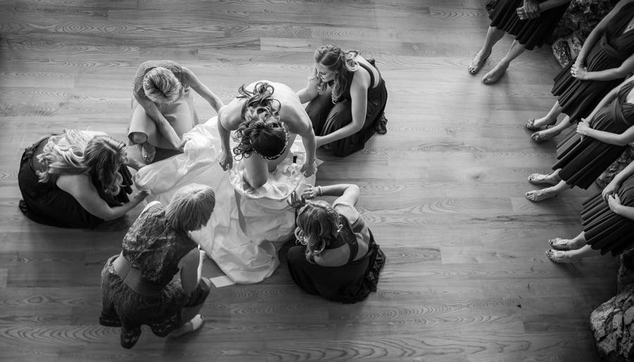 Bride-Dress-Mother-Bridesmaid-Picture