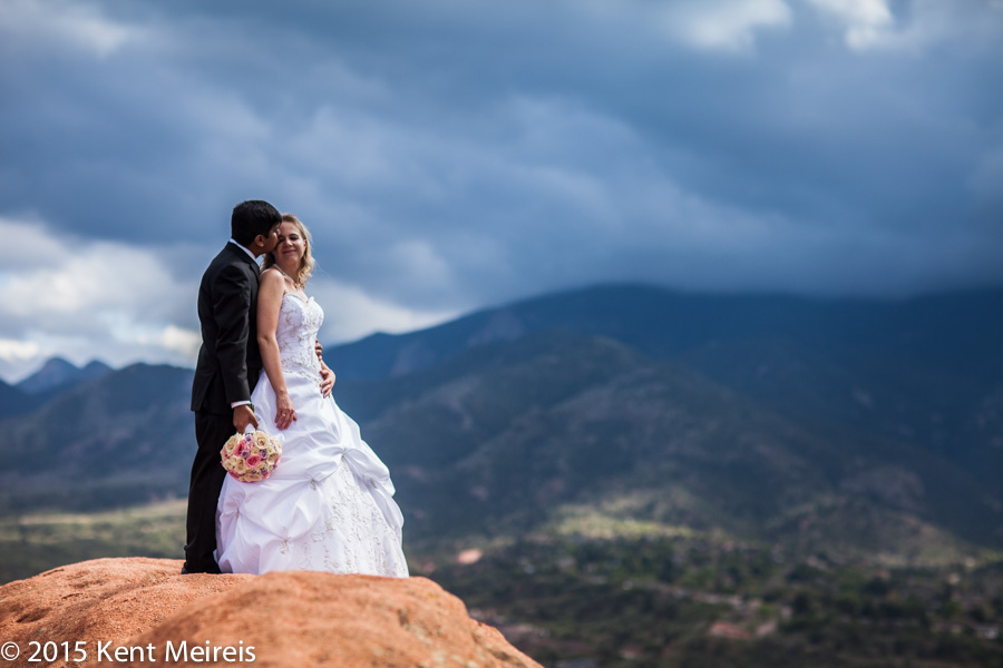 Garden Of The Gods Colorado Springs Wedding Montana Wedding Photography