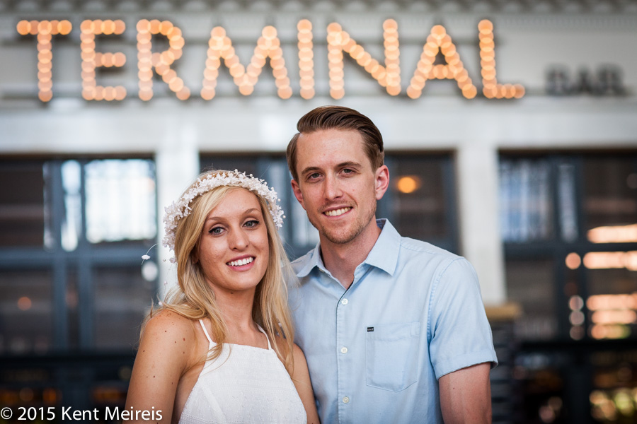 Bride-groom-portrait-Union-Station-Denver-Colorado-Terminal-Bar-Picture