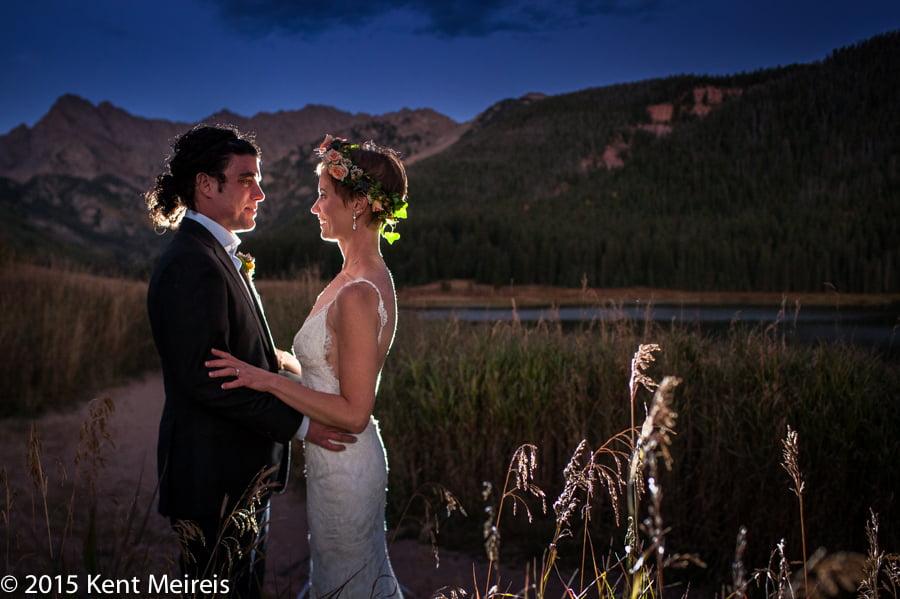 Piney-River-Ranch-Wedding-Bride-Groom-Picture