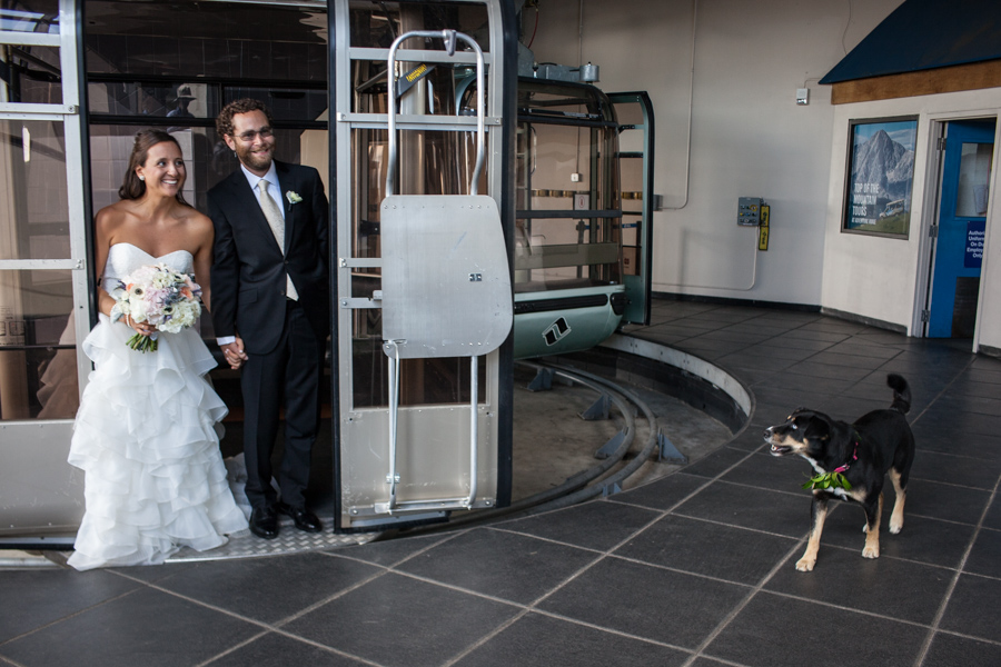 Vail_Colorado_Jewish_Mountain_Wedding_Gondola_Dog