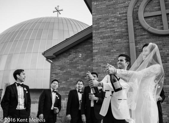 Greek_Orthodox_Cathedral_Bride_Groom_Champagne_Cork_Denver_Colorado_Denver Greek Orthodox Wedding