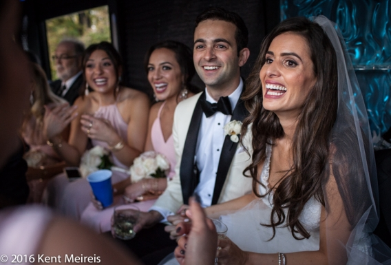 Greek_Bride_Groom_Partying_Wedding_Limo_Denver_Colorado_Denver Greek Orthodox Wedding