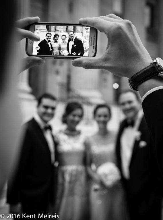 Greek_Wedding_Party_Cellphone_Picture_Denver_Colorado_Denver Greek Orthodox Wedding