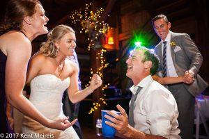 Old Thompson Barn Wedding Reception Dance Party