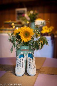 Old Thompson Barn Wedding Flowers Shoes