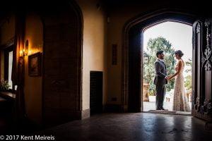 Highlands Ranch Mansion Wedding Bride Groom Reveal Momment