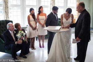 Highlands Ranch Mansion Wedding Jewish Contract Signing Ketubah