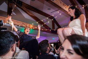 Highlands Ranch Mansion Wedding Rception Jewish Hora Dance Parents