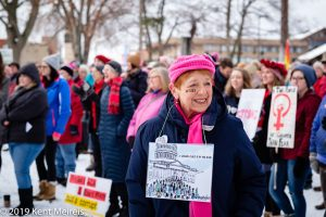 Kalispell Montana Womens March Trump Protest