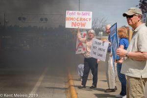 Rollingcoal,Redneck,diesel,Truck,Trump,President,Protest,Montana,Kalispell