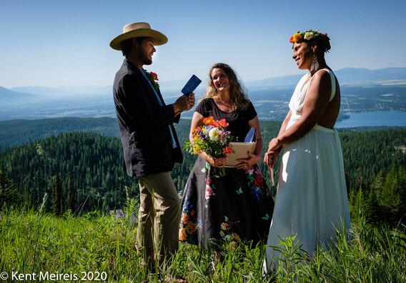 Montana Interracial Elopement